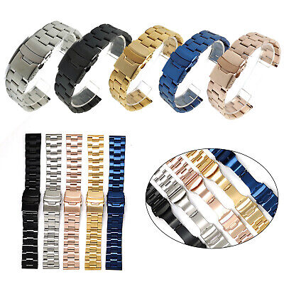 $ CDN17.66 • Buy Fashion Solid Stainless Steel Watch Strap Band Bracelet For Seiko Diver Watch