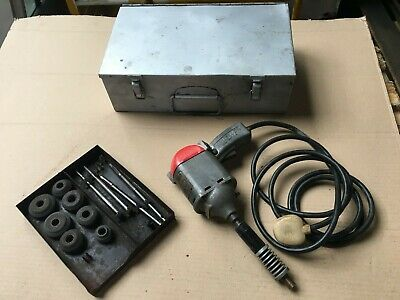 Wolf Hand Valve Seat Grinder And Grinding Stones. Working Order • 50£