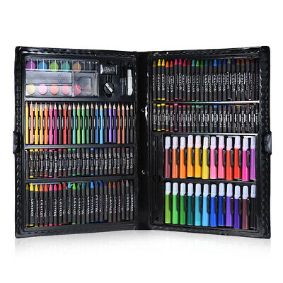 168pcs Drawing Pen Set Painting Pen Color Pencils Oil Pastels For Kids Toys G1W9 • 18.73£