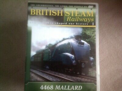 British Steam Railways #1 4468 Mallard*dvd*documentary*trains* • 2.98£