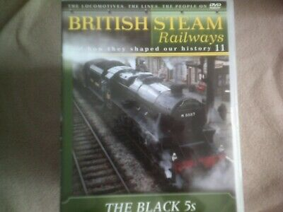 British Steam Railways #11 The Black 5's*dvd*documentary*trains* • 2.98£