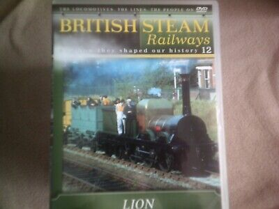 British Steam Railways #12 Lion*dvd*documentary*trains* • 2.98£