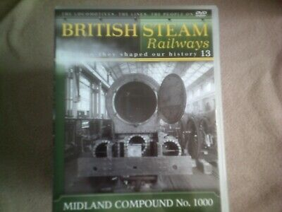 British Steam Railways #13 Midland Compound No. 1000*dvd*documentary*trains* • 2.98£