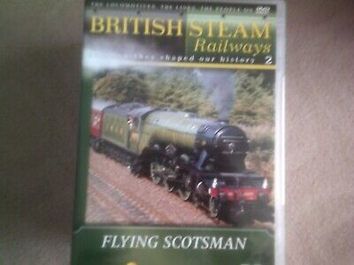 British Steam Railways #2 Flying Scotsman*dvd*documentary*trains* • 2.98£