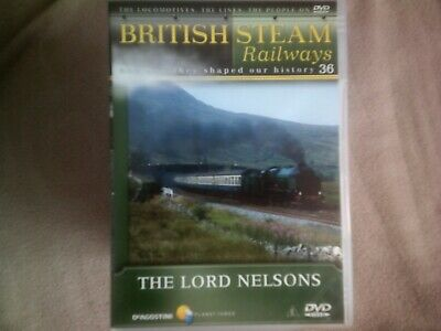 British Steam Railways #36 The Lord Nelsons*dvd*documentary*trains*bsr • 2.98£