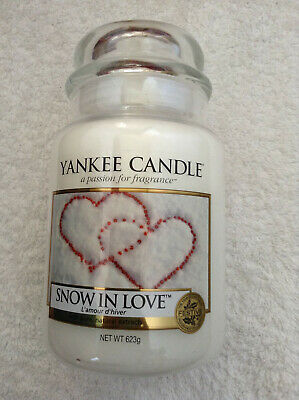 Yankee Candle 'Snow In Love' Large Jar • 21.95£
