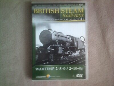 BRITISH STEAM RAILWAYS #51 WARTIME 2-8-0/ 2-10-0s*DVD*DOCUMENTARY*TRAINS*BSR • 2.98£