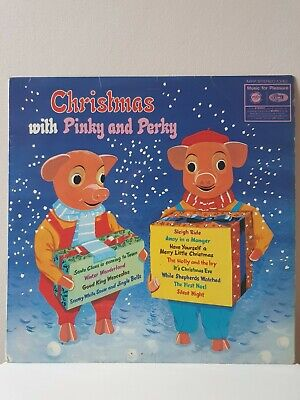 🎵 Christmas With Pinky And Perky Vinyl - EMI MFP Stereo 1342 Made In Uk 1969🎵 • 7.99£