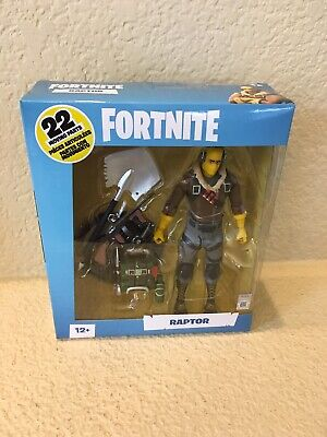 $ CDN22.65 • Buy Fortnite Raptor McFarlane Toys 7 Inch Action Figure In Hand New 100 % USA