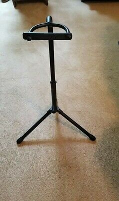 $ CDN30.04 • Buy Black Metal Acoustic Or Electric Guitar Floor Stand Prop. Hold Guitar. Awesome