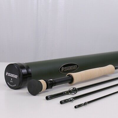 $ CDN1202.80 • Buy Sage X 9 FT 5 WT Fighting Butt Fly Rod - FREE FLY LINE - FREE 2 DAY SHIPPING