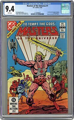 $72 • Buy Masters Of The Universe #1 CGC 9.4 1982 2116589007