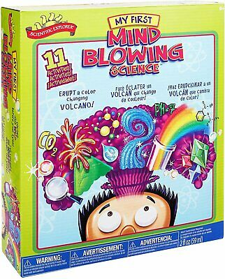 £10.84 • Buy Scientific Explorer My First Mind Blowing Science Kids Science Experiment Kit