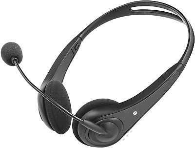 Trust Chat Headset With Microphone For PC And Laptop, Skype Headset With 3.5 Mm • 11.29£