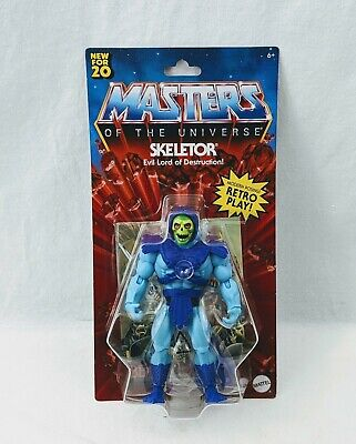 "$23.98 • Buy Mattel SKELETOR Masters Of The Universe Origins Retro 5.5""  Loose Out Of Package"