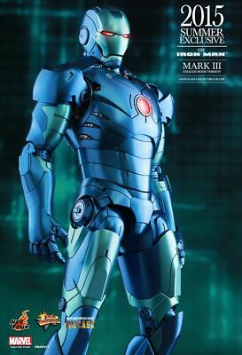AU525 • Buy Hot Toys Iron Man MARK III Stealth Mode Version MMS314D12 Diecast Exclusive New