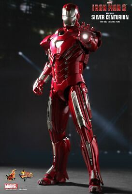 AU475 • Buy Hot Toys Mark 33 SiIver Centurion Iron Man 3 MMS213 Exclusive Special Edition