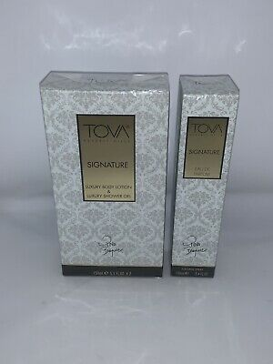 £89.99 • Buy Tova Signature Set EDP Spray 100ml & Luxury Lotion & Shower Gel 2x150ml SEALED