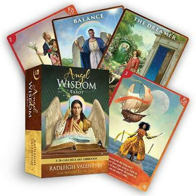 AU34.49 • Buy Angel Wisdom Tarot: A 78-Card Deck And Guidebook By Radleigh Valentine (English)
