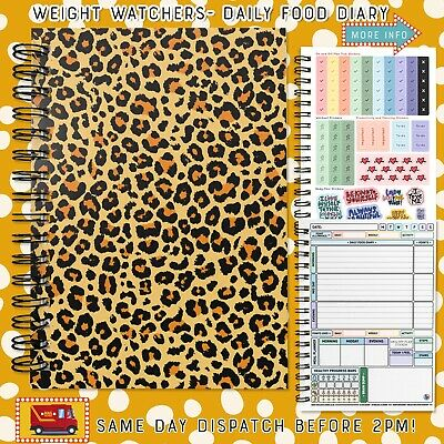 WEIGHT WATCHERS-Food Diary/7WK/A5/Book/Journal/Planner/Meals/Health-2021[210] • 6.95£