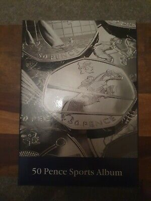 LIGHTHOUSE Presso Olympic 50 Pence Collectors Coin Album • 14.99£