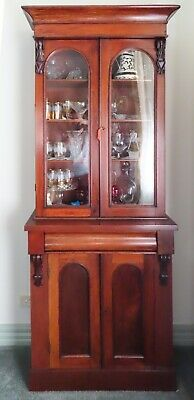 AU1775 • Buy Victorian Mahogany Bookcase. 19th Century. In Beautiful Condition