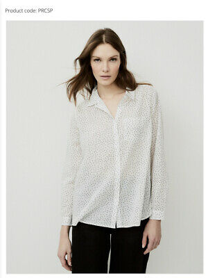 The White Label Cotton Voile Shirt Size 8 New With Tags Rrp £59 • 5£