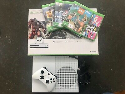 AU375 • Buy Xbox One S 1TB Console + Controller + Games = Ready To Play