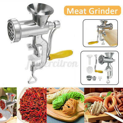 AU22.55 • Buy Heavy Duty Hand Manual Meat Grinder Mincer Stuffer Sausage Filler Maker Machine