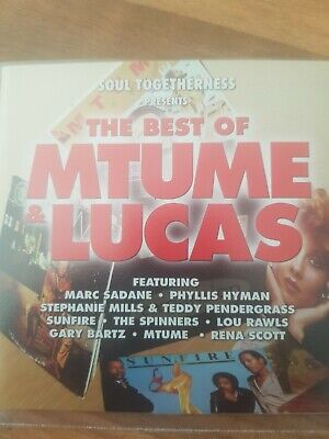 Soul Togetherness Presents The Best Of Mtume & Lucas (cd.)expansion 15 Trax V/a • 6£