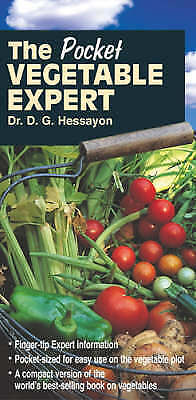 The Pocket Vegetable Expert By D. G. Hessayon, Paperback Used Book, Acceptable,  • 5.99£