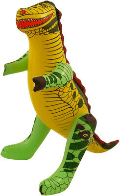 £2.40 • Buy Inflatable Dinosaur 43cm Blow Up Animal Child Fancy Hen Stag Party Toy Decor