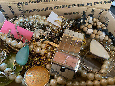 $ CDN18.44 • Buy Vintage To Now Jewelry Lot Unsearched Untested Estate Finds E4