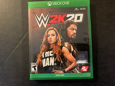 $ CDN19.11 • Buy W2K 20 Game For Microsoft XBOX One Excellent Condition