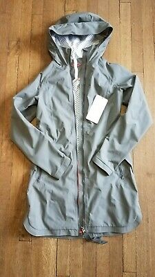 $ CDN12.55 • Buy Lululemon Definitely Raining Jacket Raincoat Slate Grey Size 4 Read Description