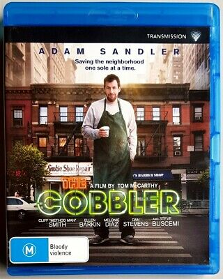 AU13.95 • Buy The Cobbler (Adam Sandler & Steve Buscemi) BLU-RAY **BRAND NEW** (Region B)