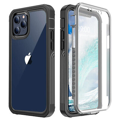 AU17.89 • Buy 360 Full Crystal Clear Rugged Case Cover IPhone XS/11/12 Pro Max/XR/X/6/7/8 Plus