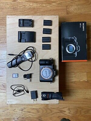 $ CDN1942.16 • Buy Sony A7sii Package, 4 Batteries, Original Box, Unused Strap, Extras