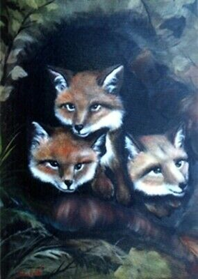 Bob Ross Wildlife How To Painting Packet • 10£