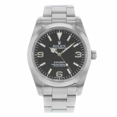 $ CDN9999.16 • Buy Rolex Explorer Stainless Steel Black Dial Automatic Mens Watch 214270