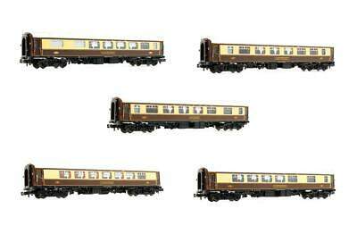 Graham Farish 'n' Gauge Rake Of 5 Umber & Cream Mk1 Pullman Cars • 149.50£