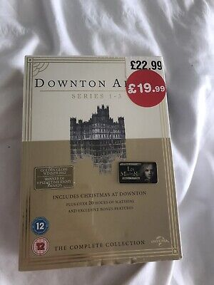 Downtown Abbey Dvd Box Set Series 1-3 Complete Collection  • 5£