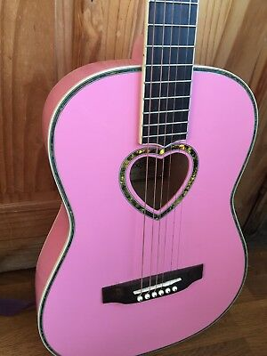 Kids Pink CandyRox Guitar Musical Instrument Children's Music Christmas Game Toy • 19.99£