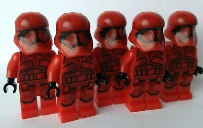 Sith Troopers, Storm Trooper, Troopers, Army Star Wars 5X Mini-figures Fits Lego • 8.99£