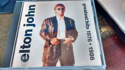 £2.69 • Buy Elton John - Greatest Very Best Hits Singles Collection 1976-1986 - 13 Track Cd