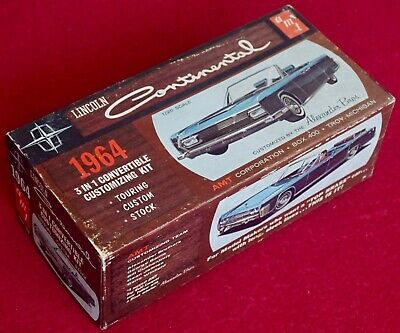 $100 • Buy AMT 1/25 1964 Lincoln Continental Convertible Alexander Bros - Cat 6416-150 RARE