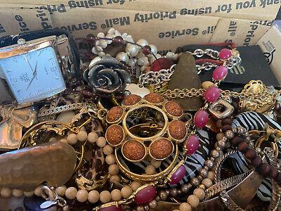 $ CDN19.76 • Buy Vintage To Now Jewelry Lot Unsearched Untested Estate Finds A4