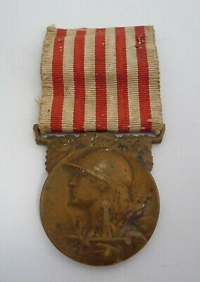 France / French Ww1 Commemorative Medal Of The Great War 1914 - 1918 (a) • 17.99£