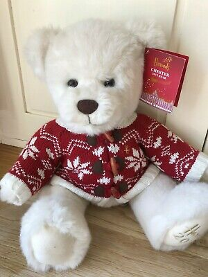 Harrods Chester Christmas 2012 Bear With Ear Tag Attached  • 8.50£