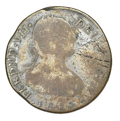 $ CDN26.35 • Buy CONTEMPORARY FORGERY NON-REGAL, Mexico, 1810-P-HJ 2 Reales, Kleeberg 10A-P4